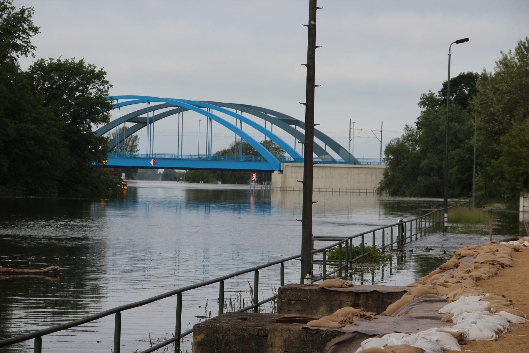 Wasserstand Elbe Wittenberge